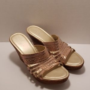 Wedge sandals size 12